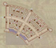 Карта Торгового района