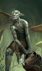 Murkwater Goblin card art