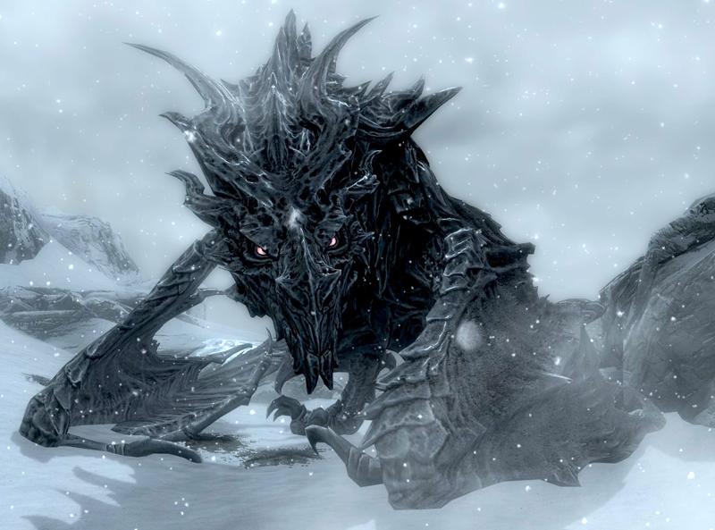 Alduin Elder Scrolls Fandom