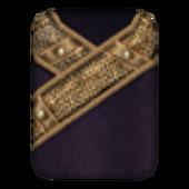 Вычурная Мантия 1 (Morrowind) сложена