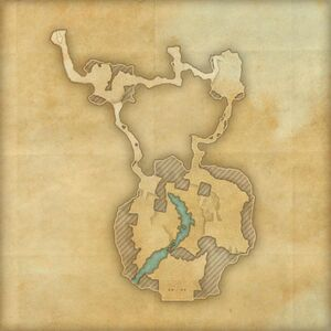 Пещеры Тёмных теней (план)