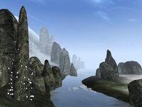 Река Харстрад и Камень Ветра (TES III)