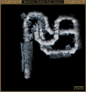 Aesliip's Lair, Caverns