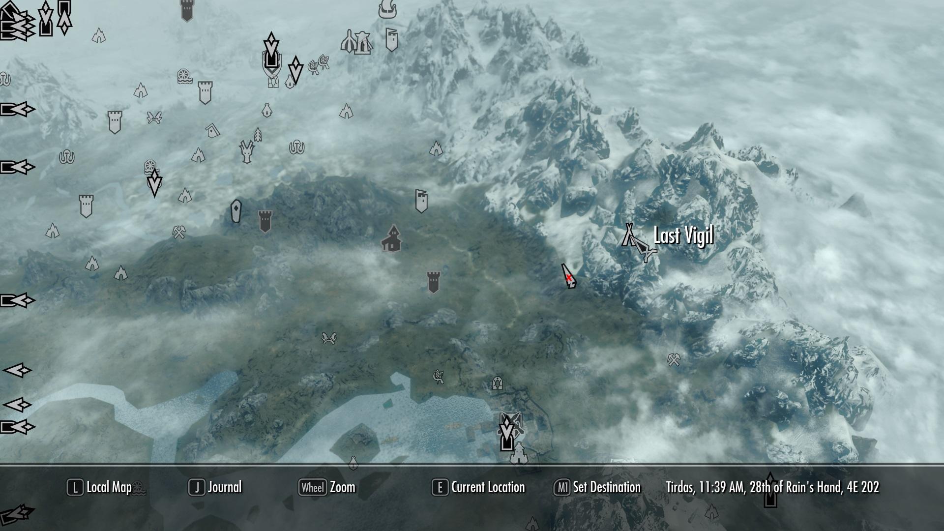 Map Forest Stash Elder Scrolls