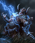 Lightning Bolt card art