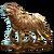 Treasure Statuette of A Daedric Dog