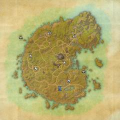 Бетник-Дорожное святилище Резных холмов-Карта
