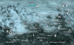 Забытая долина карта