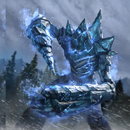Frost Atronach card art