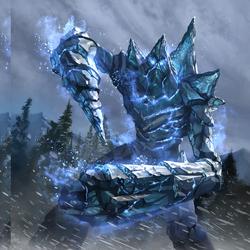 Frost Atronach card art