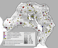 Эктоплазма карта