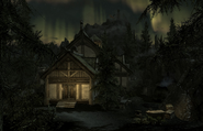 Lakeview Manor at Night