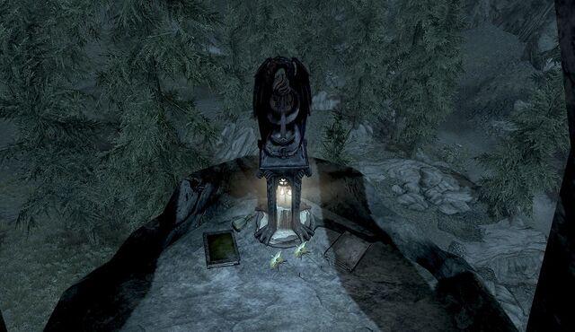 File:Shrine of Akatosh (Falkreath) Offerings.jpg