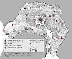 Вампир карта