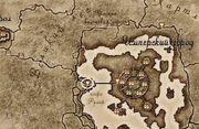 Имперский Город на карте