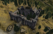 Battlehorn Castle Aeriel View