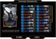 Covenant Armaments Deck 1
