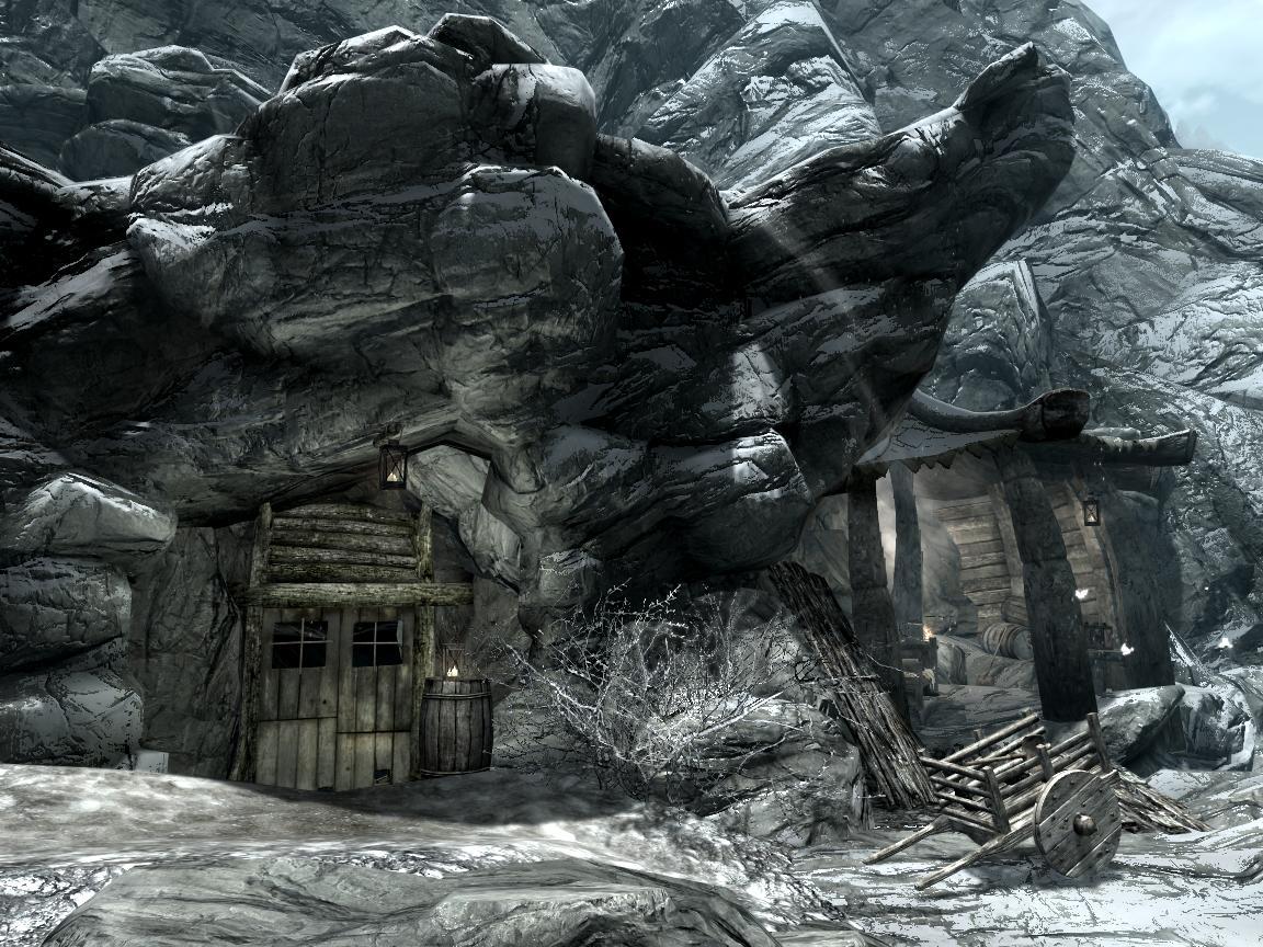 エボニー鉱山スカイリム