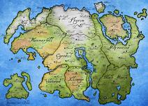 Tamriel Map