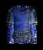Синяя шёлковая рубашка
