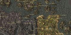 Яичная шахта Синамуза. Карта