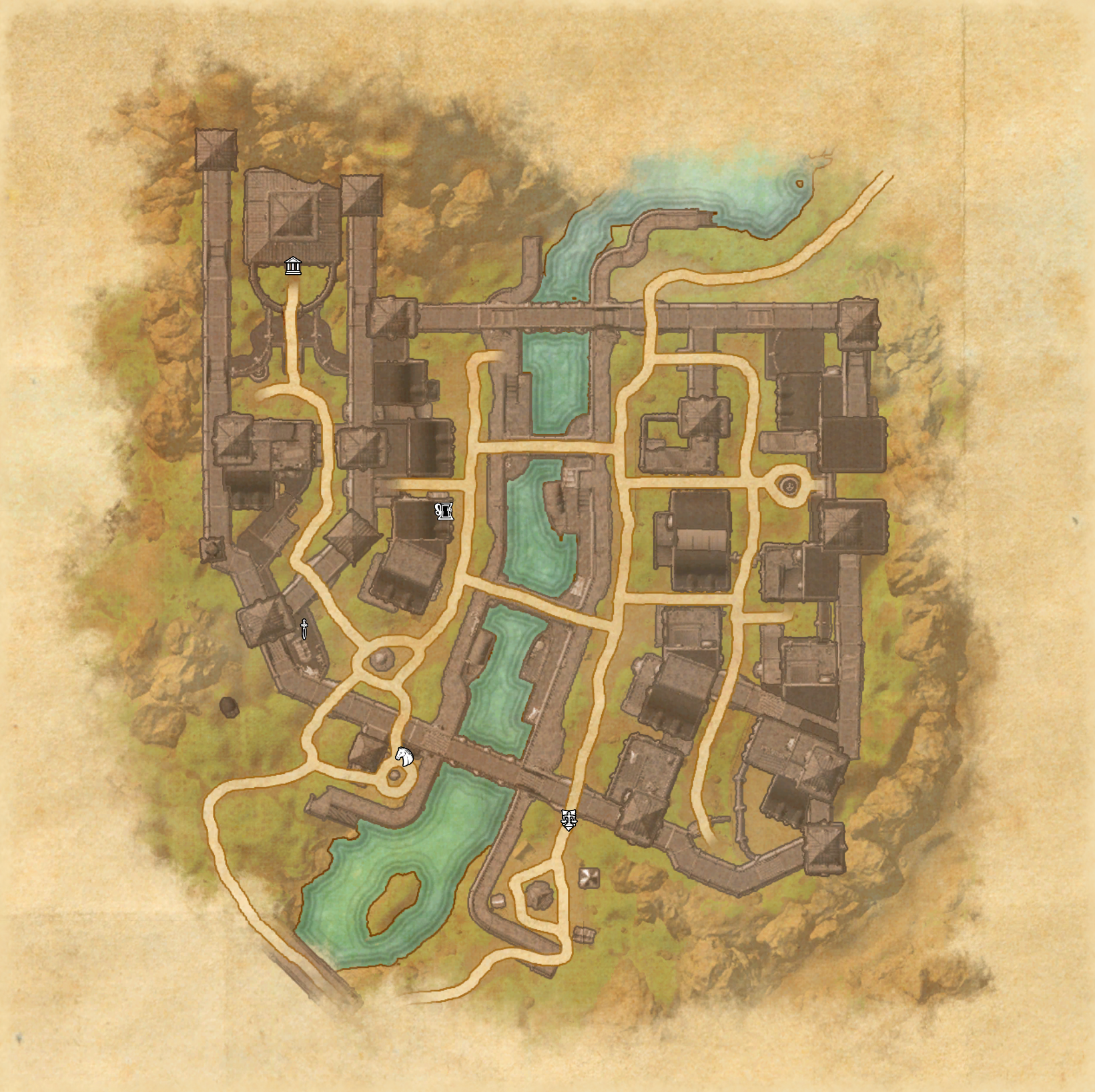 Mapa en la SE