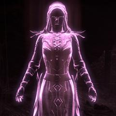 Eteryczna postać Mephali z gry The Elder Scrolls Online