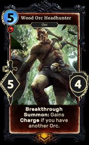 Wood Orc Headhunter (Legends)
