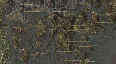 Родовая гробница Хлаалу. Карта