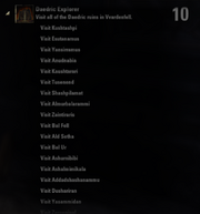 Daedric Explorer Achievement - Page 1