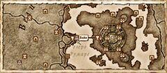 Вейе. Карта