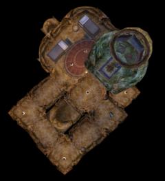 Верхняя башня тель мора. План