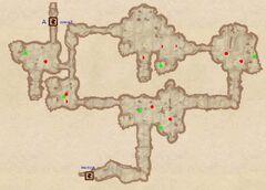 Пещера Хейнот. План