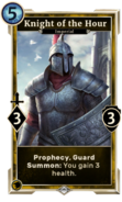 Knight of the Hour DWD