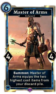Master of Arms alternate card DWD
