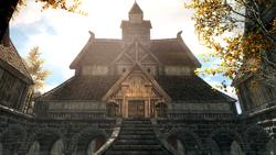 Riften - Temple of Mara Exterior (Skyrim)