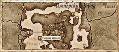 Пещера Дзонот. Карта