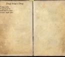 Dead Man's Drop (Book)