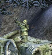 Estatua Ayleid espada