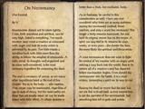 On Necromancy