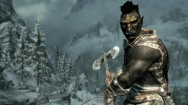 File:Orc with a Battleaxe.jpg