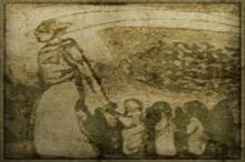 Pittura raffigurante Veloth