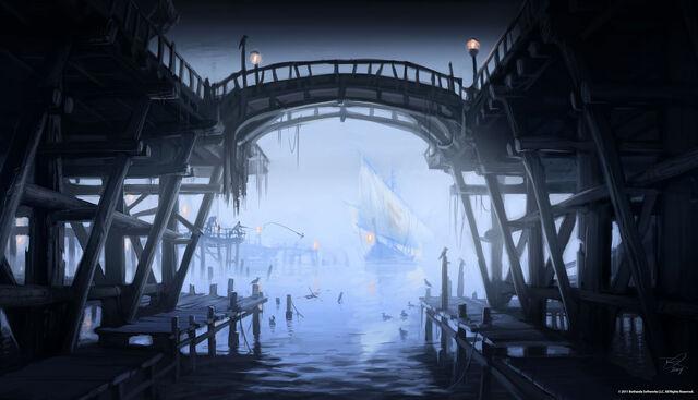 File:Riften Pier Concept Art.jpg