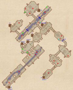 Канализация Эльфийского сада. План