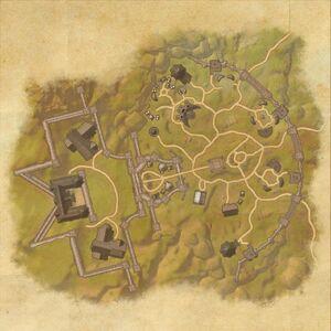 Южные врата Хай Рока (план)