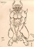 Battlespire - Morphoid Concept Art