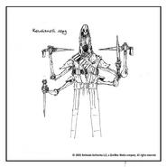 Костяной лорд (концепт-арт TES III)