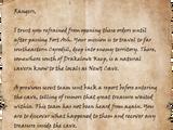 Captain Izard's Orders