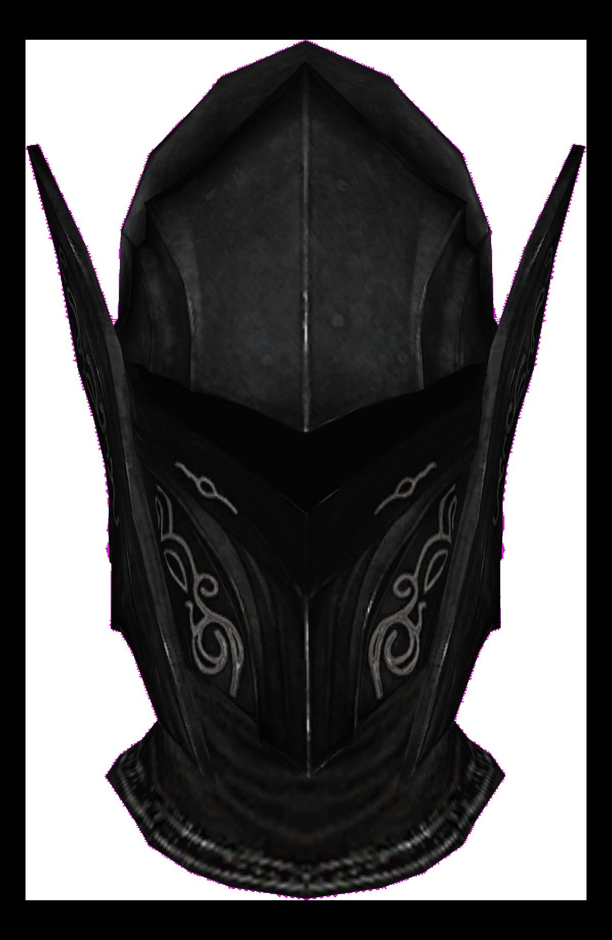 Ebony Helmet Skyrim Elder Scrolls Fandom Powered By Wikia