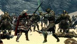 Imperial Legion vs Aldmeri Dominion